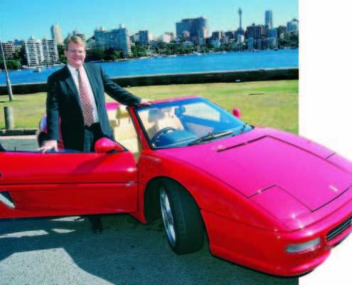 Peter Spann First Ferrari
