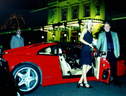 Peter Spann Net Worth Ferrari Monaco 2