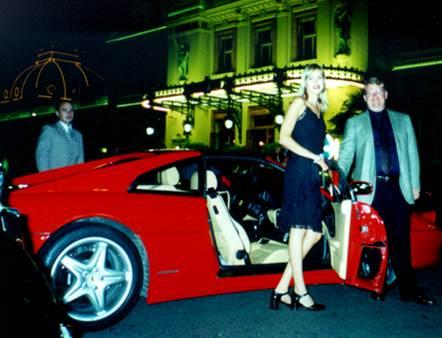 Peter Spann Net Worth Ferrari Monaco 2